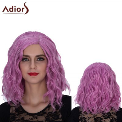 Adiors Medium Side Parting Wavy Colormix Film Character Synthetic Wig