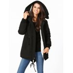 cheap Hooded High Low Parka