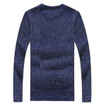 cheap Crew Neck Appliques Long Sleeve Sweater
