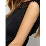 best Sleeveless Hollow Out Ruched Maxi Dress