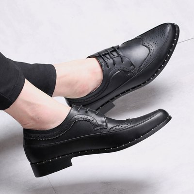 Point Toe Casual ShoesCasual Shoes<br>Point Toe Casual Shoes<br><br>Gender: For Men<br>Toe Style: Closed Toe<br>Toe Shape: Pointed Toe<br>Closure Type: Lace-Up<br>Shoe Width: Medium(B/M)<br>Pattern Type: Solid<br>Embellishment: None<br>Occasion: Casual<br>Outsole Material: Rubber<br>Upper Material: Microfiber<br>Season: Spring/Fall,Winter<br>Weight: 0.950kg<br>Package Contents: 1 x Shoes (pair)