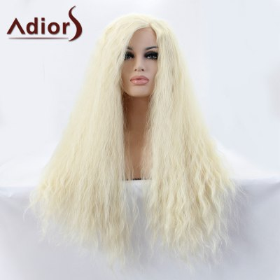 Long Water Wavy Lace Front Synthetic Wig