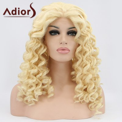 Adiors Hair Medium Curly Lace Front Synthetic Wig