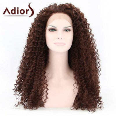 Adiors Hair Long Curly Lace Front Synthetic Wig