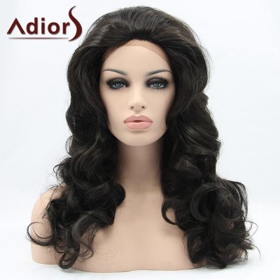Adiors Hair Long Wavy Lace Front Synthetic Wig