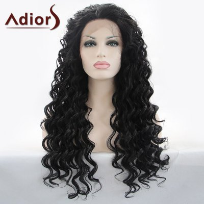 Adiors Hair Gorgeous Long Curly Lace Front Synthetic Wig