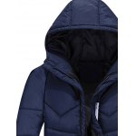 cheap Zip Up Padded Hooded Jacket
