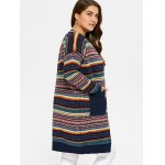 Plus Size Tribal Knitted Cardigan deal