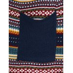 best Plus Size Tribal Knitted Cardigan