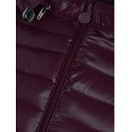 Zip Up Hooded Quilted Coat for sale