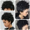 Adiors Short Pixie Cut Curly Side Bang Synthetic Wig