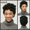 cheap Adiors Short Fluffy Curly Side Parting Synthetic Wig