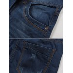 best Straight Fit Zip Fly Mid Waisted Jeans
