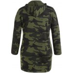 cheap Tokyo 68 Print Camouflage Plus Size Hoodie