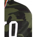 Tokyo 68 Print Camouflage Plus Size Hoodie deal