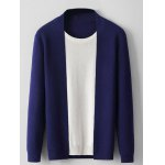 Color Block Panel Faux Twinset Knitwear deal