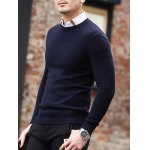 Slim Fit Crew Neck Pullover Knitwear deal