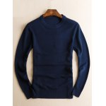 Slim Fit Crew Neck Pullover Knitwear for sale