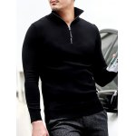 Slim Fit Half Zip Polo Sweater deal