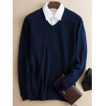 Slim Fit Pullover V Neck Knitwear photo