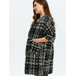 Plus Size Space Dyed Chunky Cardigan deal