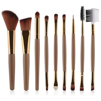 9 Pcs Multifunction Facial Makeup Brushes Set