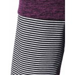 Plus Size Striped Tunic T-Shirt for sale