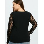Floral Lace Panel Top for sale