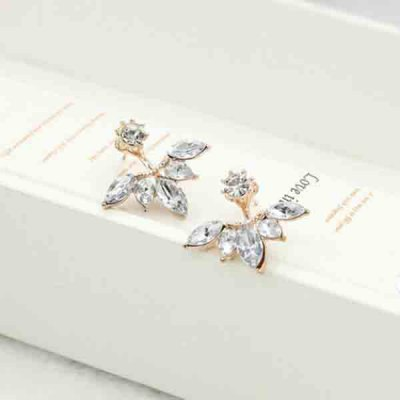 Pair of Chic Leaf Rhinestone Stud Earrings For WomenEarrings<br>Pair of Chic Leaf Rhinestone Stud Earrings For Women<br><br>Earring Type: Stud Earrings<br>Gender: For Women<br>Style: Trendy<br>Shape/Pattern: Plant<br>Length: 1CM<br>Weight: 0.040kg<br>Package Contents: 1 x Earring (Pair)