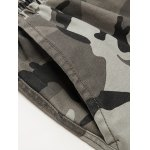 Camouflage Beam Feet Nine Army Jogger Pants for sale