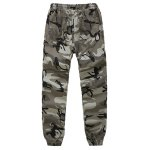 cheap Camouflage Beam Feet Nine Army Jogger Pants