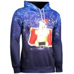 Long Sleeve Funny Christmas Patterned Hoodies photo