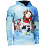 3D Print Pullover Christmas Patterned Hoodies photo