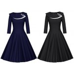 Button Layered Swing Dress for sale