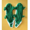 Knitted Cartoon Alligator Slipper Socks deal