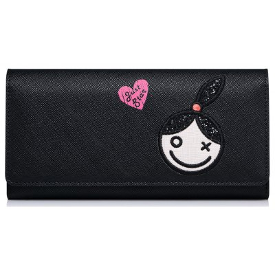 Flapped Clutch Wallet