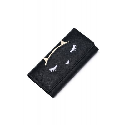 Metal Cat Ears Embroidery WalletWomens Wallets<br>Metal Cat Ears Embroidery Wallet<br><br>Wallets Type: Clutch Wallets<br>Gender: For Women<br>Style: Fashion<br>Closure Type: Snap Closure<br>Pattern Type: Solid<br>Main Material: PU<br>Length: 19CM<br>Height: 9CM<br>Weight: 0.450kg<br>Package Contents: 1 x Wallet