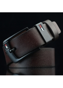 Faux Leather Wide Waist Belt with Pin Buckle