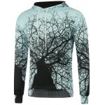 Buy Colormix Hooded 3D Tree Branch Print Long Sleeve Hoodie-17.60 Online Shopping GearBest.com