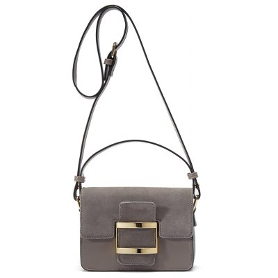 Buckle Belt Crossbody Bag