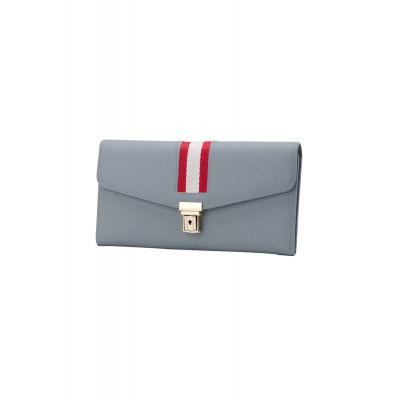Stripe Trim Hasp WalletWomens Wallets<br>Stripe Trim Hasp Wallet<br><br>Wallets Type: Clutch Wallets<br>Gender: For Women<br>Style: Casual<br>Closure Type: Hasp<br>Pattern Type: Striped<br>Main Material: Leather<br>Length: 19CM<br>Width: 1CM<br>Height: 10CM<br>Weight: 0.250kg<br>Package Contents: 1 x Wallet