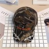 cheap Bionic Jungle Print Baseball Hat with Reindeer Embroidery