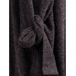 Shawl Collar Tied Cardigan deal