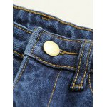 Applique Wide Leg Raw Hem Jeans deal