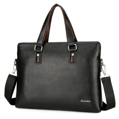 PU Leather Briefcase With WalletHandbags<br>PU Leather Briefcase With Wallet<br><br>Closure Type: Zipper<br>Gender: For Men<br>Height: 29CM<br>Length: 37CM<br>Main Material: PU<br>Package Contents: 1 x Briefcase,1 x Wallet<br>Pattern Type: Solid<br>Style: Fashion<br>Weight: 1.200kg<br>Width: 6CM