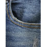 Floral Frayed Embroidered Jeans deal