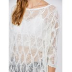 best Batwing Sleeve See Through Cover-Up