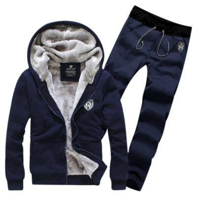 Zip Up Patch Hoodie Twinset