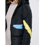 best Printed Hooded Quilted Jacket