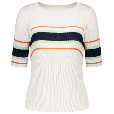 Striped Ribbed Knitwear